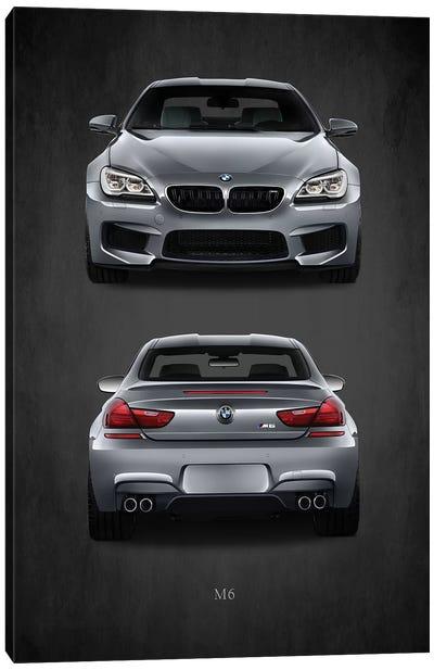 BMW M6 Canvas Art Print