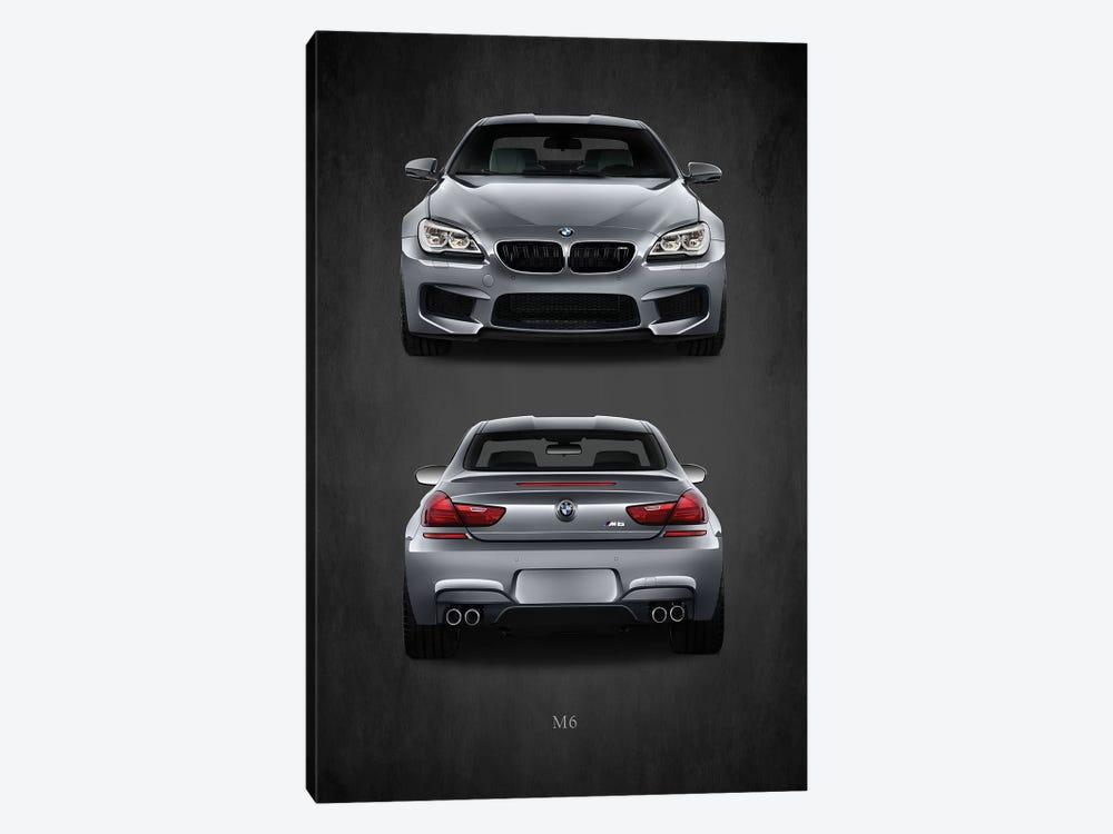 BMW M6 by Mark Rogan 1-piece Art Print