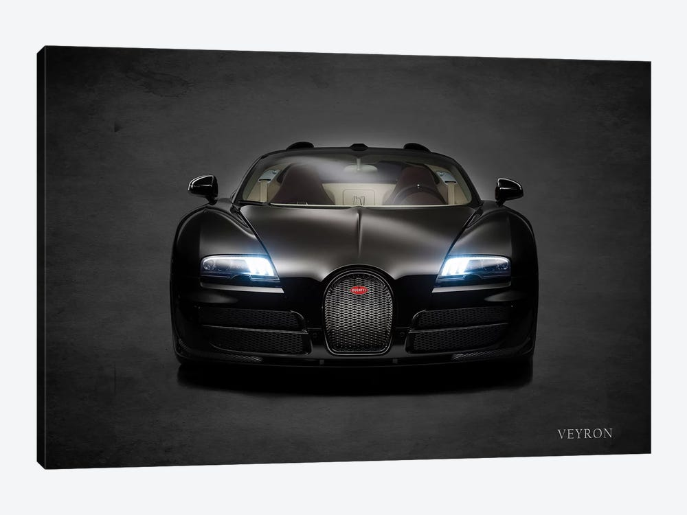 Bugatti Veyron by Mark Rogan 1-piece Canvas Art