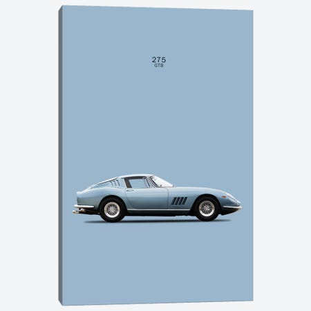 1966 Ferrari 275 GTB Canvas Print #RGN38} by Mark Rogan Canvas Art Print