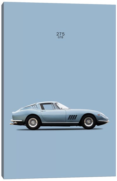 1966 Ferrari 275 GTB Canvas Art Print