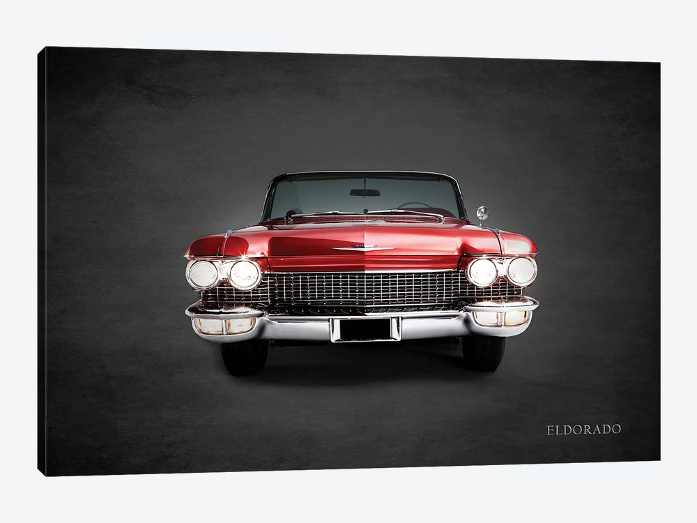 Cadillac Eldorado by Mark Rogan 1-piece Canvas Wall Art