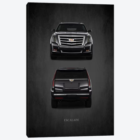 Cadillac Escalade Canvas Print #RGN391} by Mark Rogan Canvas Wall Art
