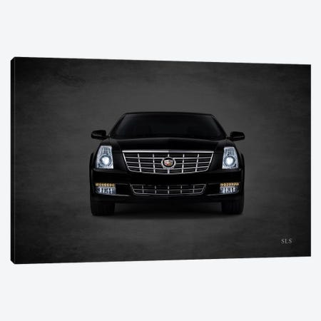 Cadillac SLS Canvas Print #RGN392} by Mark Rogan Canvas Wall Art