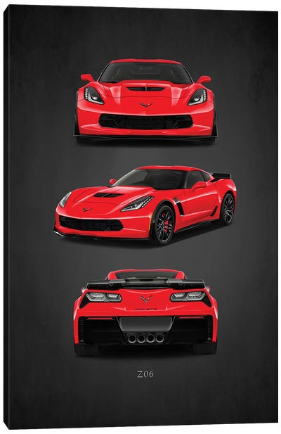 Chevrolet Corvette Z06 Canvas Art Print