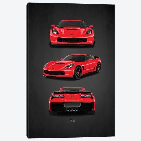 Chevrolet Corvette Z06 Canvas Print #RGN393} by Mark Rogan Canvas Artwork