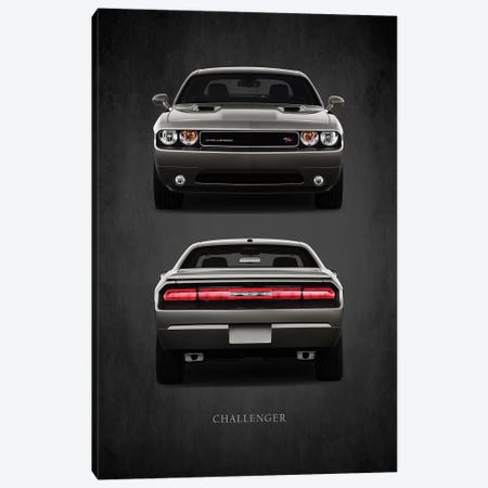 Dodge Challenger RT 3-Piece Canvas #RGN394} by Mark Rogan Art Print