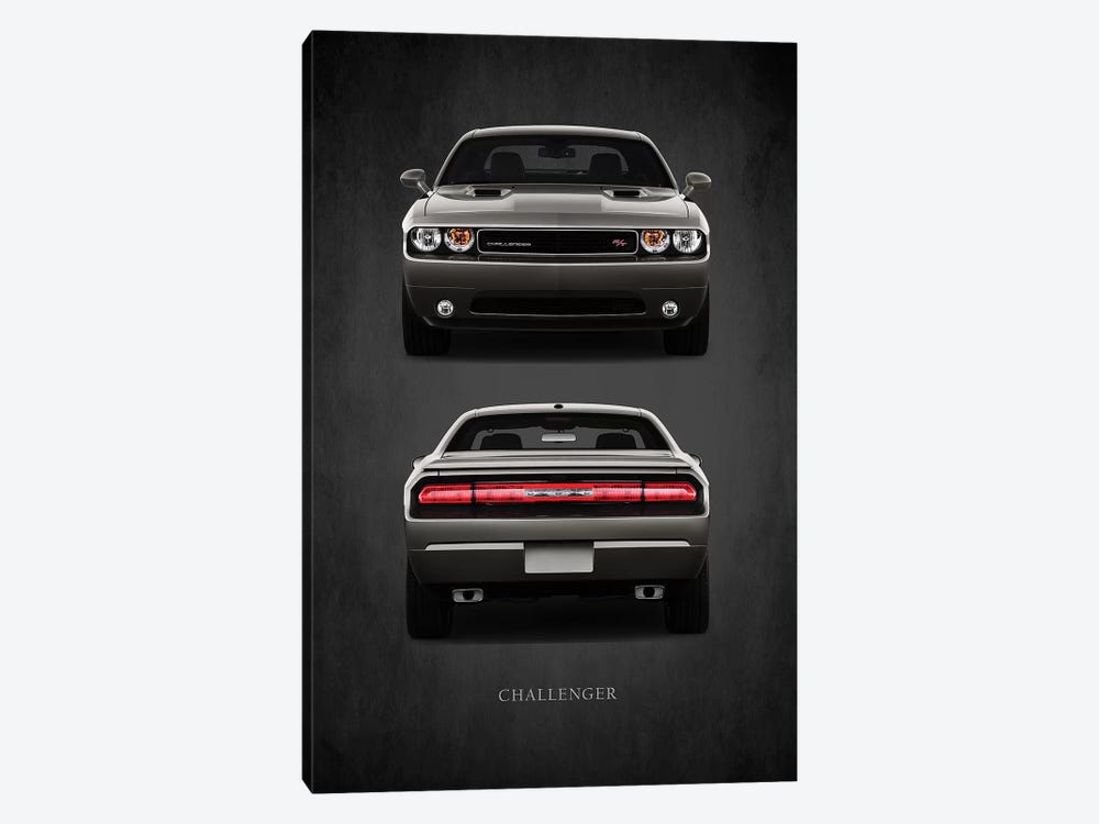 Dodge Challenger RT by Mark Rogan 1-piece Canvas Art