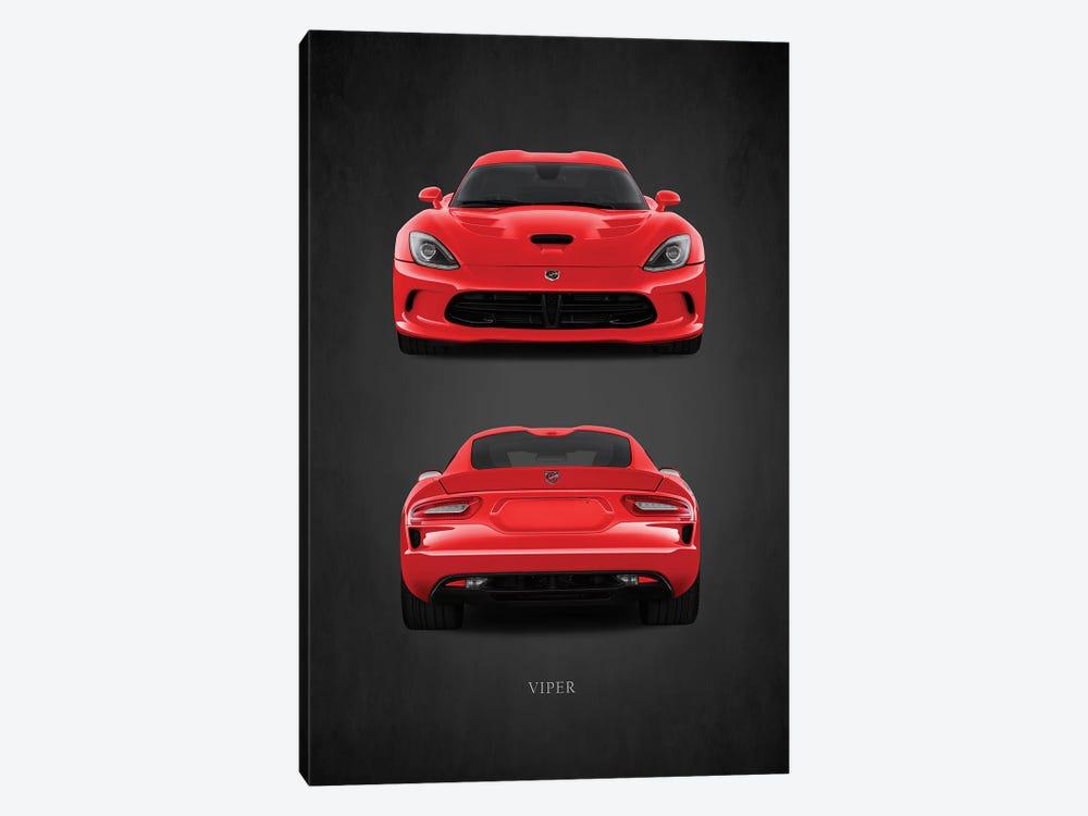 Dodge Viper Red by Mark Rogan 1-piece Canvas Artwork