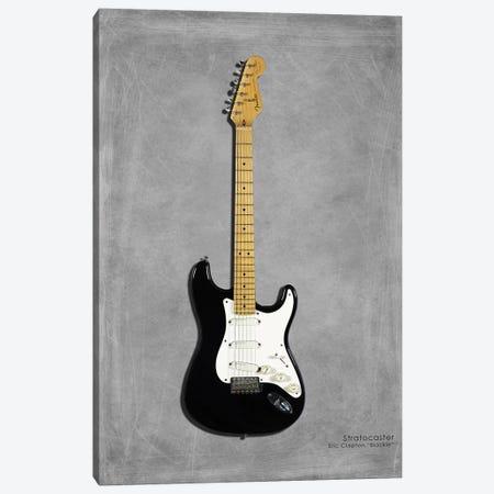 Fender EClaptonSIG Blackie '77 Canvas Print #RGN398} by Mark Rogan Canvas Artwork