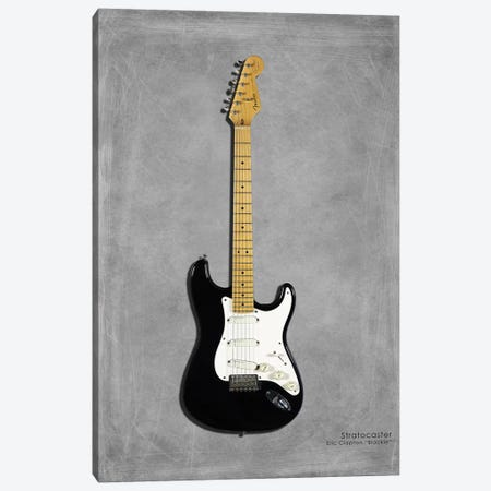 Fender EClaptonSIG Blackie '77 Canvas Print #RGN398} by Mark Rogan Canvas Artwork