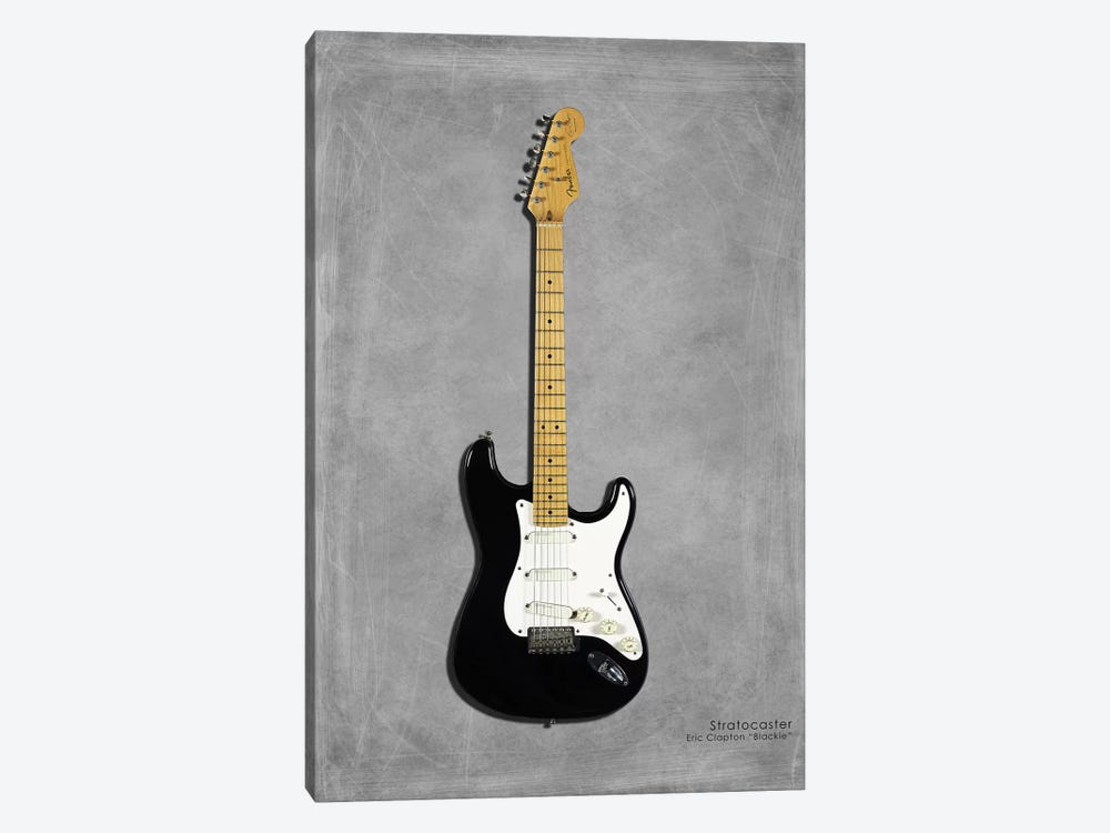 Fender EClaptonSIG Blackie '77 1-piece Canvas Wall Art