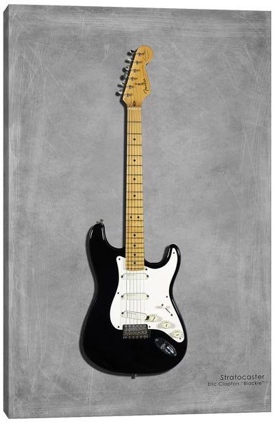 Fender EClaptonSIG Blackie '77 Canvas Art Print