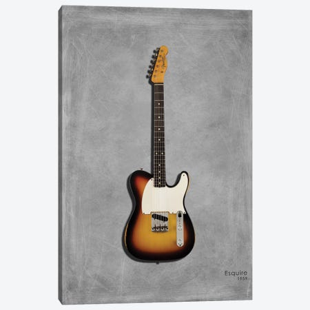 Fender Esquire '59 Canvas Print #RGN399} by Mark Rogan Canvas Wall Art