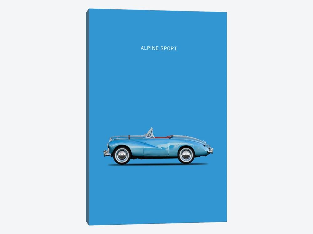 1953 Sunbeam Alpine Sport by Mark Rogan 1-piece Canvas Print