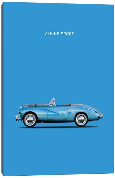 1953 Sunbeam Alpine Sport Canvas Print #RGN3