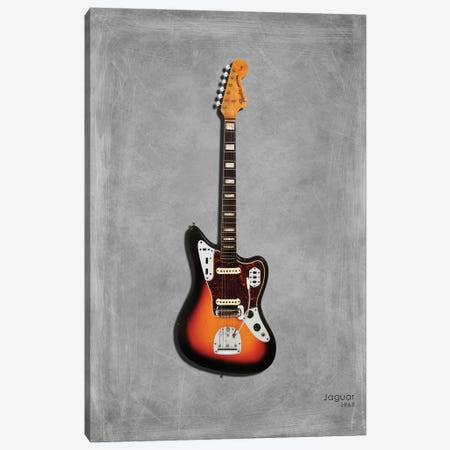Fender Jaguar '67 Canvas Print #RGN400} by Mark Rogan Canvas Wall Art