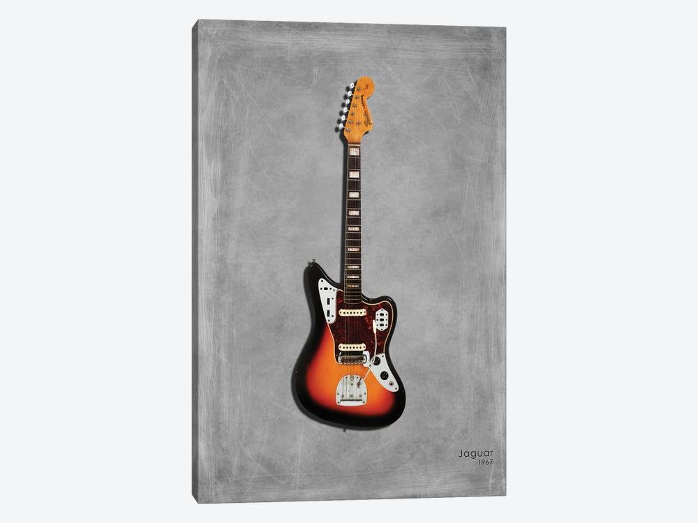 Fender Jaguar '67 by Mark Rogan 1-piece Canvas Wall Art