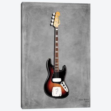 Fender Jazz Bass '74 Canvas Print #RGN401} by Mark Rogan Canvas Wall Art