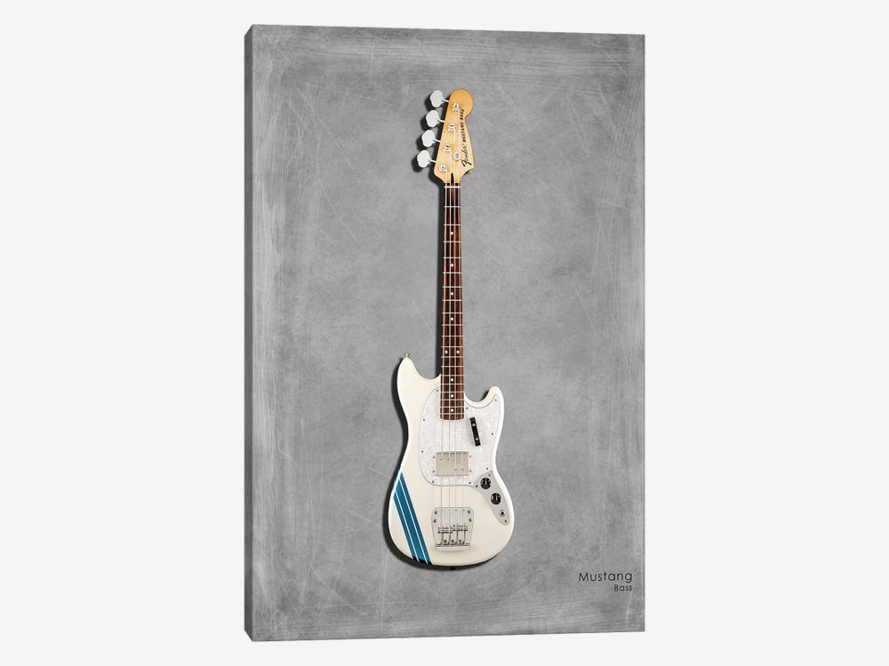 Fender Mustang Bass by Mark Rogan 1-piece Canvas Print