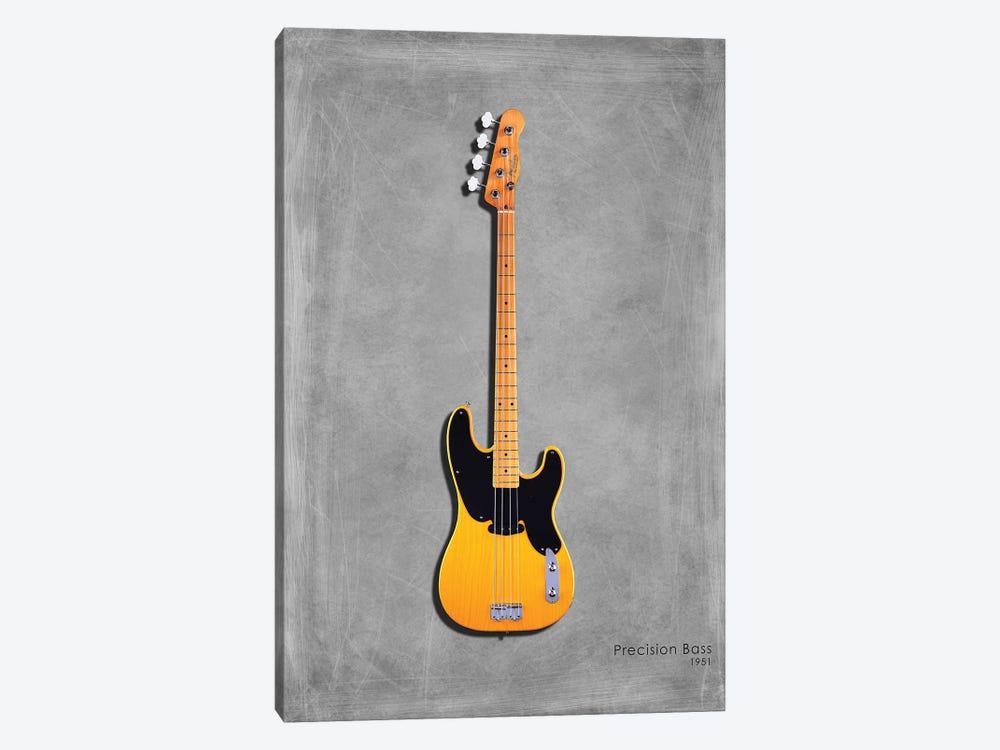 Fender Precision Bass '51 by Mark Rogan 1-piece Canvas Artwork