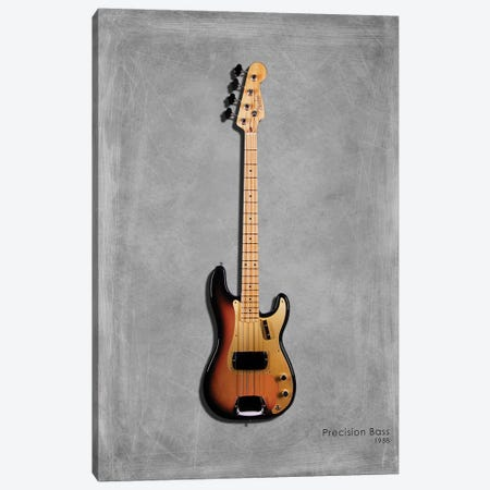 Fender Precision Bass '58 Canvas Print #RGN405} by Mark Rogan Canvas Print
