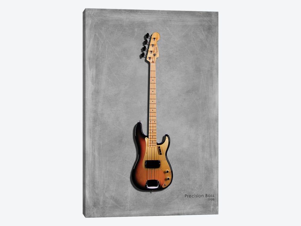 Fender Precision Bass '58 by Mark Rogan 1-piece Art Print