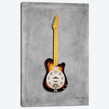 Fender Reso-Tele Canvas Print #RGN406} by Mark Rogan Canvas Print