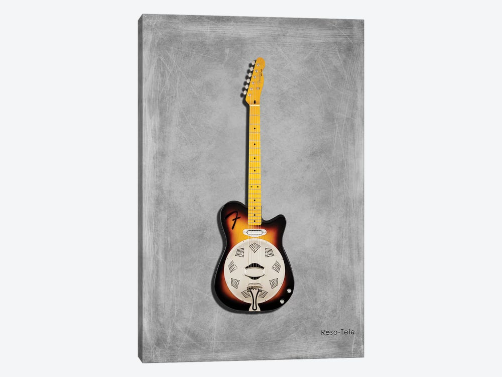 Fender Reso-Tele by Mark Rogan 1-piece Canvas Artwork
