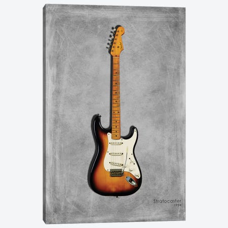 Fender Stratocaster '54 Canvas Print #RGN407} by Mark Rogan Canvas Print