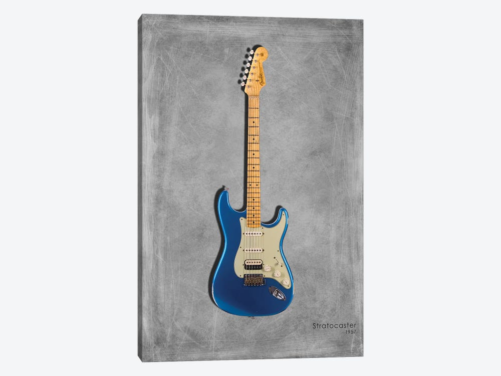 Fender Stratocaster '57 by Mark Rogan 1-piece Canvas Wall Art