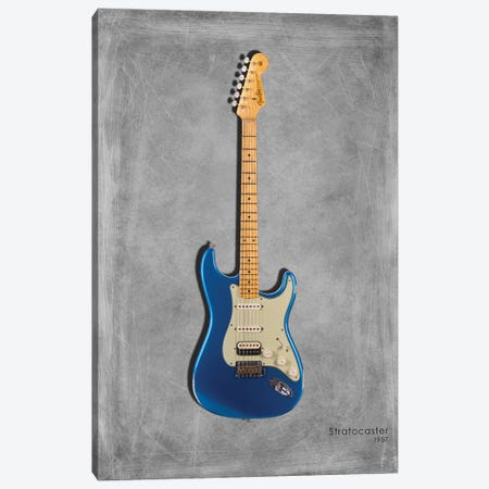 Fender Stratocaster '57 3-Piece Canvas #RGN408} by Mark Rogan Canvas Wall Art