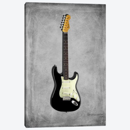 Fender Stratocaster '59 Canvas Print #RGN409} by Mark Rogan Canvas Wall Art