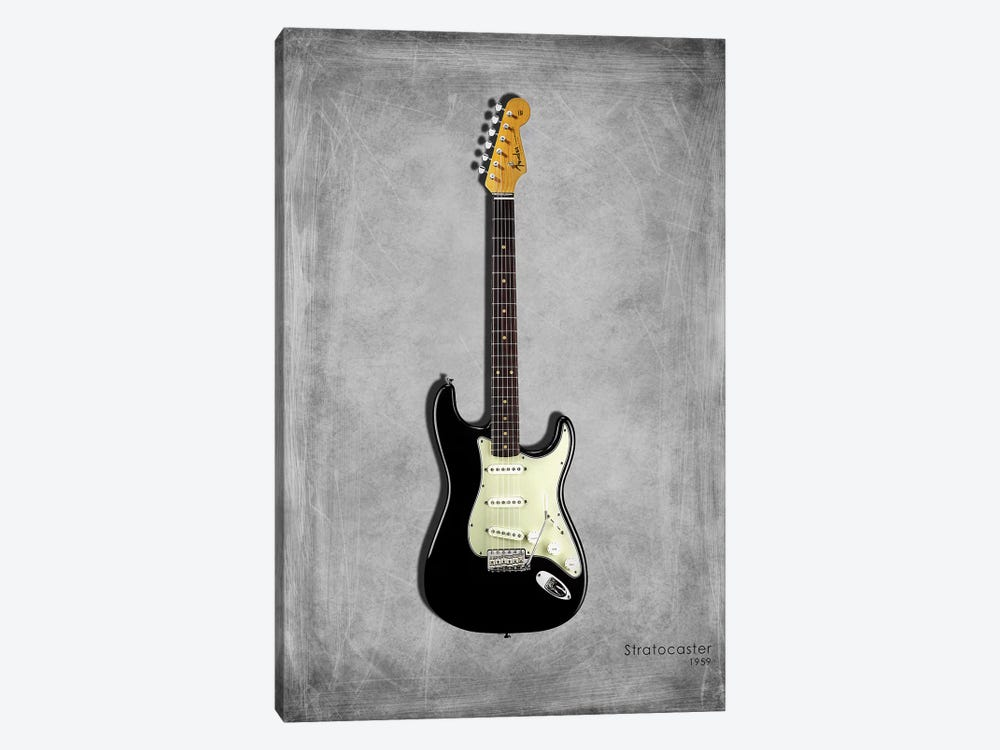 Fender Stratocaster '59 by Mark Rogan 1-piece Art Print