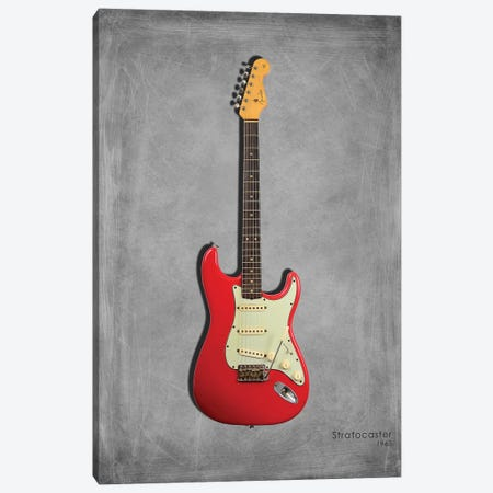 Fender Stratocaster '63 Canvas Print #RGN410} by Mark Rogan Canvas Print