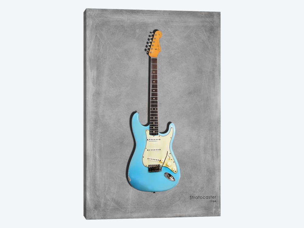 Fender Stratocaster '64 by Mark Rogan 1-piece Canvas Art