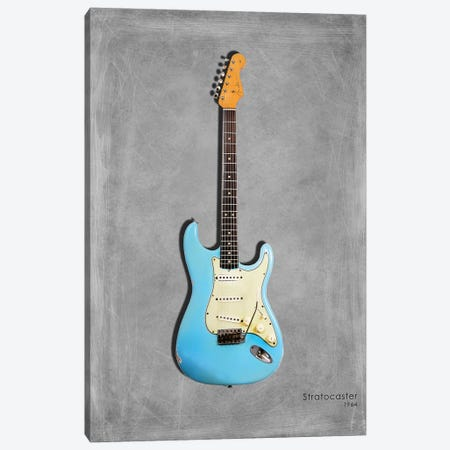 Fender Stratocaster '64 Canvas Print #RGN411} by Mark Rogan Art Print
