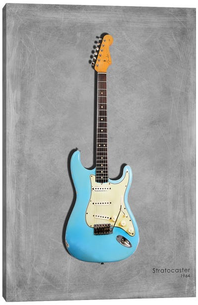 Fender Stratocaster '64 Canvas Art Print