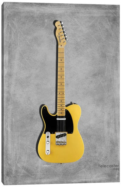 Fender Telecaster '52 Canvas Art Print