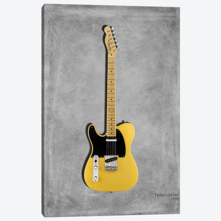 Fender Telecaster '52 Canvas Print #RGN413} by Mark Rogan Canvas Print
