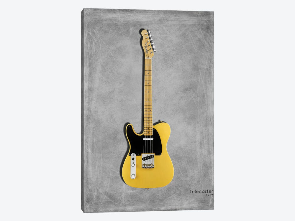 Fender Telecaster '52 by Mark Rogan 1-piece Canvas Artwork