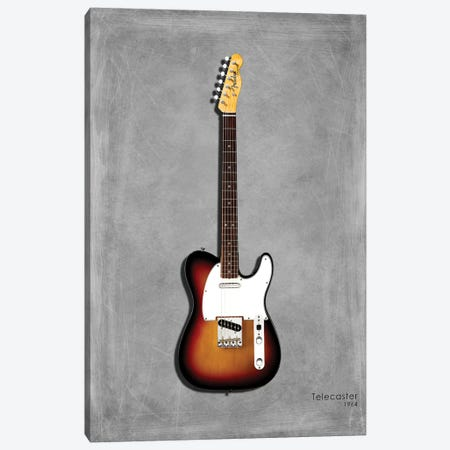 Fender Telecaster '64 Canvas Print #RGN415} by Mark Rogan Canvas Artwork
