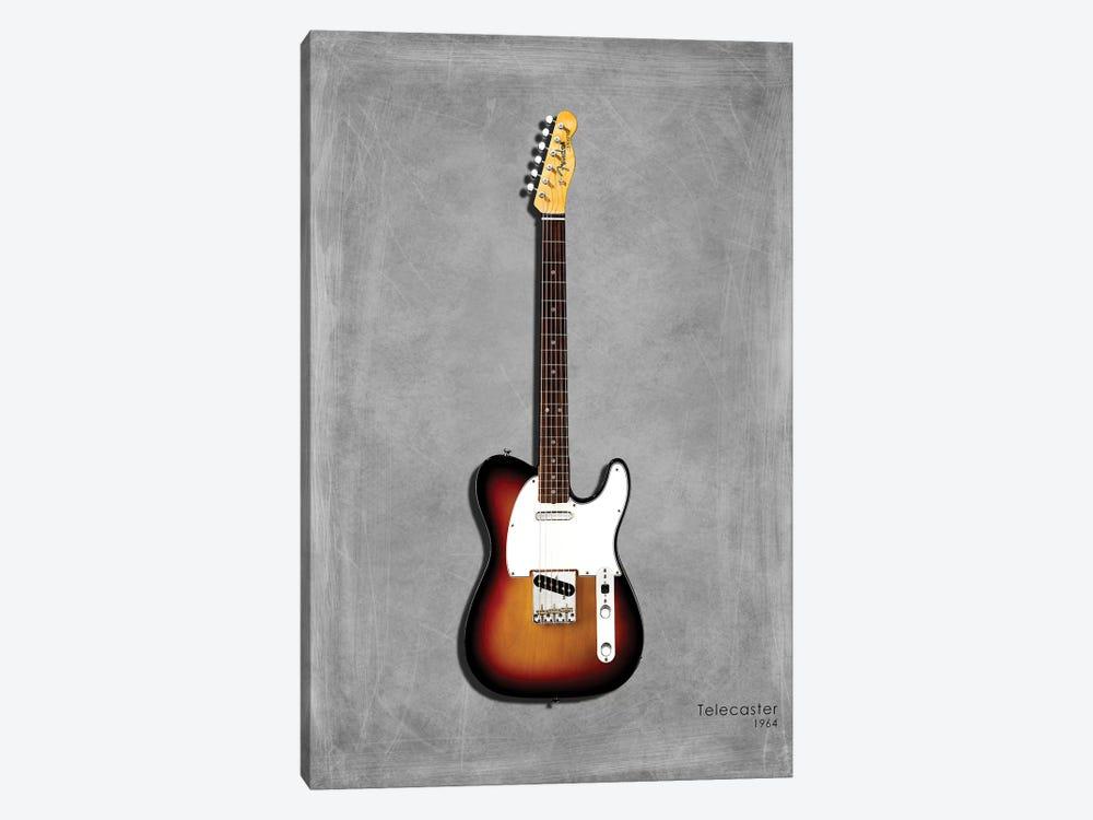 Fender Telecaster '64 by Mark Rogan 1-piece Canvas Art