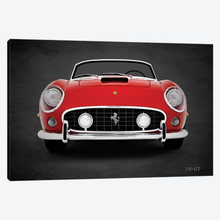 Ferrari 250 GT Canvas Print #RGN416} by Mark Rogan Canvas Art