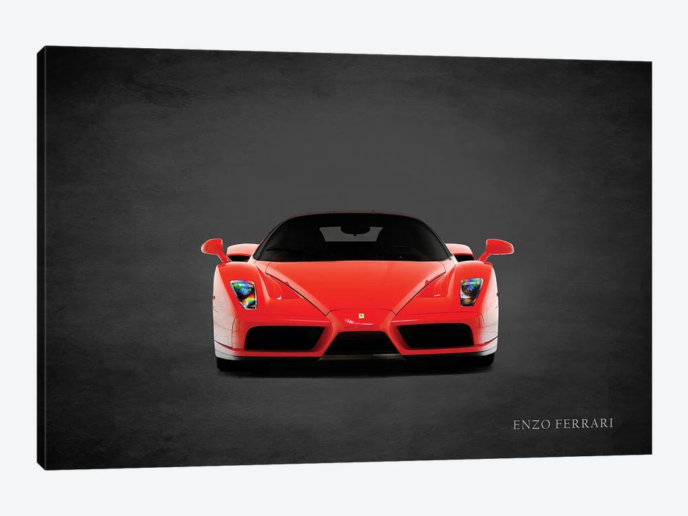 Ferrari Enzo, Front by Mark Rogan 1-piece Canvas Artwork