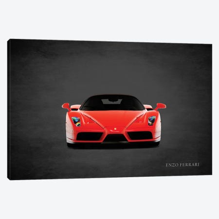 Ferrari Enzo, Front Canvas Print #RGN419} by Mark Rogan Art Print