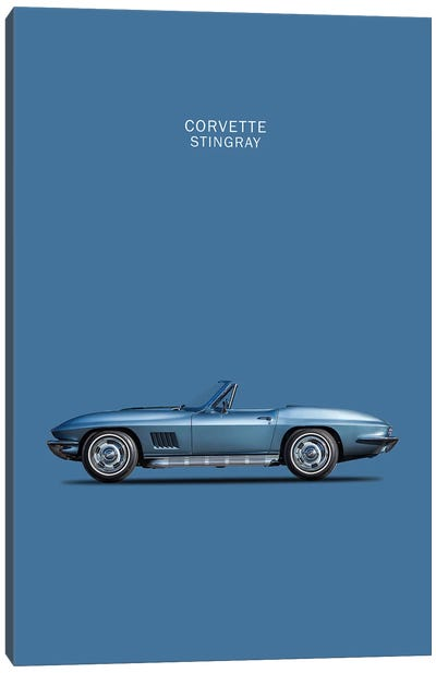 1967 Chevrolet Corvette Stingray Canvas Art Print