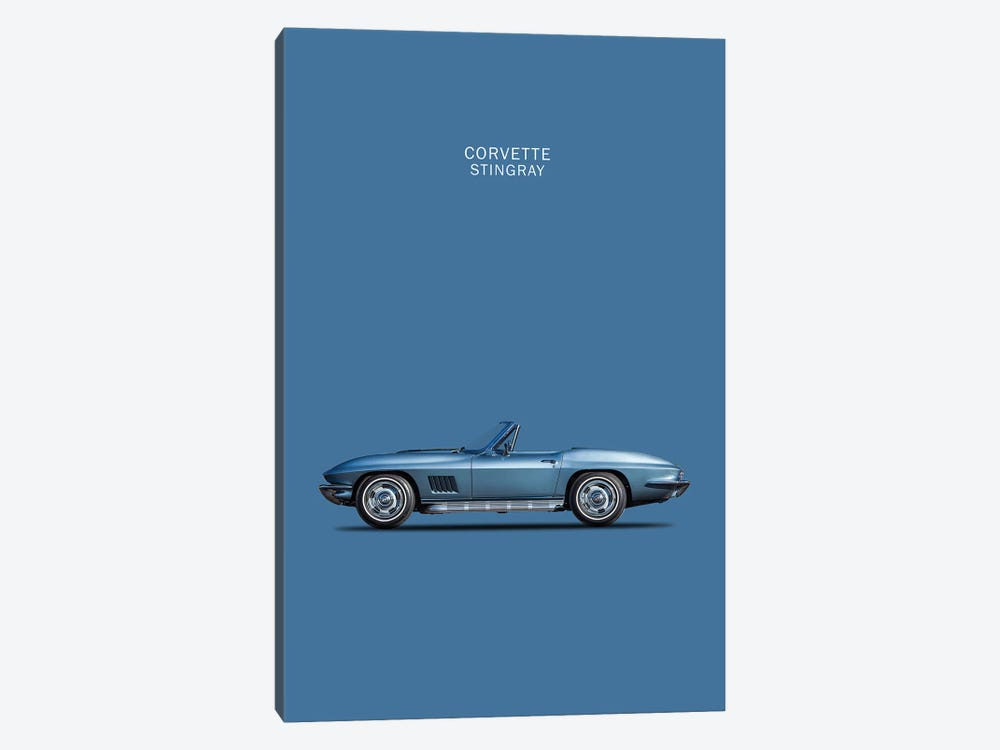 1967 Chevrolet Corvette Stingray by Mark Rogan 1-piece Art Print