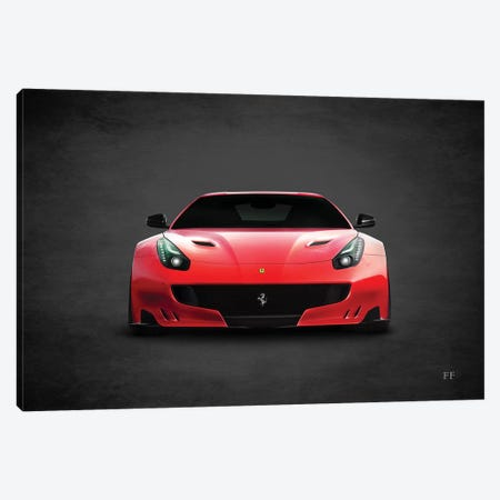 Ferrari FF Canvas Print #RGN420} by Mark Rogan Canvas Art
