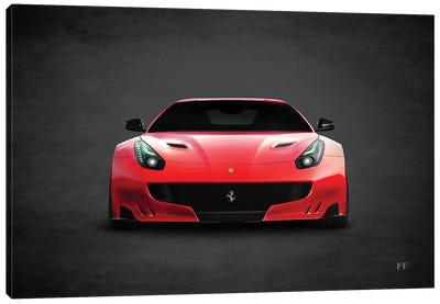 Ferrari FF Canvas Art Print